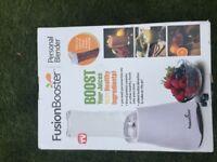 Fusion booster juice blender
