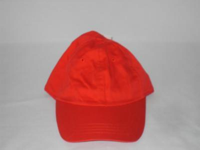 "Brand New Unisex Hat - Color"" Solid Bright Red - Size: One Fits All - NWOT"