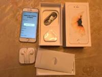 iPhone 6s - 128gb, gold, unlocked, boxed in mint condition.