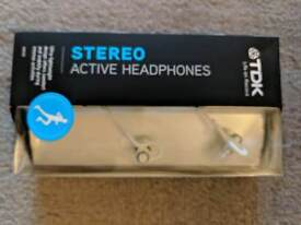 Stereo Active Headphones