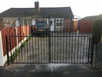 Hand made gates and railings made to your requirements size, style, colour and budget.