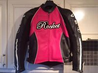 Womens motorcycle jacket. Size small. Joe Rocket