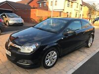 2010(60) 3DOORS VAUXHALL ASTRA 1.6 SRI METALLIC BLACK WITH MOT 6MONTHS &LOW MILESE