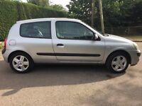RENAULT CLIO DYNAMIQUE 1.2 FULL RENAULT SERVICE HISTORY CAM BELT 78,119