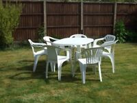Patio Table & 7 Chairs
