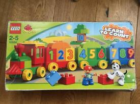 Lego Duplo 10558 Learn to Count Number Train 100% Complete Used In Box