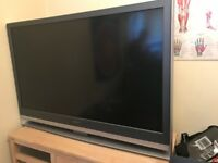 "**RESERVED ** FREE 55"" TV UPLIFT ONLY - works but colour is off"