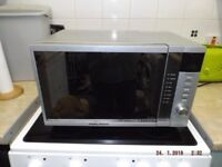 morphy richards microwave ag820akf in a used condition