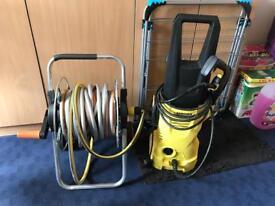 Kärcher K2 pressure washer plus long hose