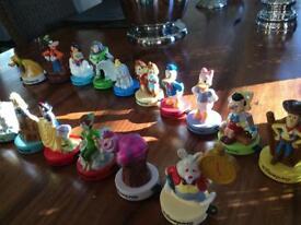 Disneyland Disney Characters, 17 in total, collectors items