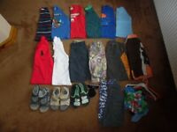 Bundle of Boys Clothes 7-8 Yrs (2 Bags includes Next, M&S and Abercrombie)