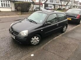 2005 / 54 RENAULT CLIO EXPRESSION 1.4L AUTO LONG MOT LOW MILES(Not corsa astra civic yaris polo golf