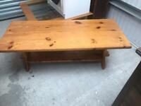 Pine coffee table FREE DELIVERY PLYMOUTH AREA