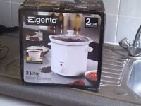 Brand new 3 litre slow cooker