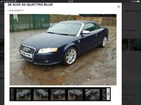 L@@K AUDI S4 SELLING AS SPARE/REPAIR START AND DRIVE NEEDS TLC