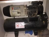 Hydro vane compressor 100 litre