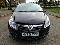 VAUXHALL CORSA Ecoflex 16v A/C 1.3 CDTI Exclusiv.NEW LONG MOT..FSH.NEW OIL+FILTER.BLACK.3D.113k.VGC.