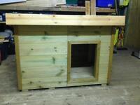 Medium dog kennel, house, Insulated floor