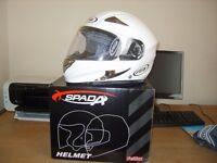 Spada Full face motorcycle helmet - Size XS