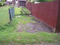Parking space for the car/small trailer in North London, N14, off the road