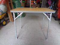 Foldaway Camping Table
