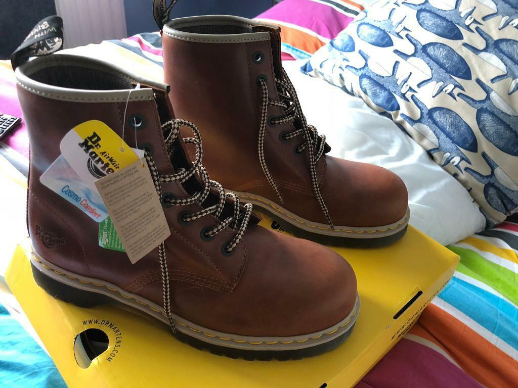 90559c5d840 Brand New Men's Dr Martens Icon Steel Toe Safety Boots leather | in  Clanfield, Hampshire | Gumtree