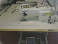 New Yamata FY-5618 High Speed Walking Foot Sewing Machine for Heavy Duty Complete With Stand & Motor