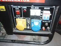 Parker Gasoline Generator Excellent Condition -