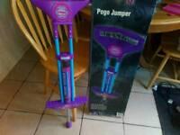 2x pogo sticks