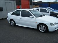1996 FORD ESCORT RS 2000 16V FSH VERY CLEAN EXAMPLE LONG MOT NOT A ROT BOX