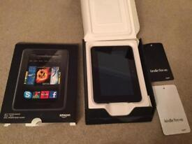 """Boxed Kindle Fire 16Gb - 7"""" Screen"""