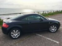 Audi TT, 1.8, Black, 2004, 92,000 miles, recent service and MOT, really good clean car