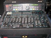 KAM KCD 960 Twin CD DECKS plus REALISTIC SSM 2200 Mixer