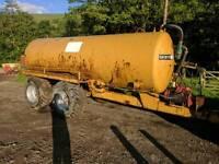 2000 gallon slurry tanker flotation tyres