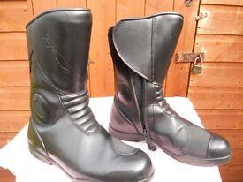Mens TCX motorcycle boots size 8/ EU 42
