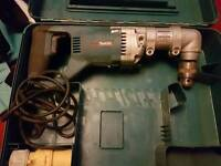 Makita right angle side drill in case 110v