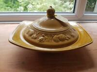 Royal Worcester crown ware dish with lid