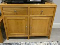 Solid Oak Storage Cabinet / Sideboard