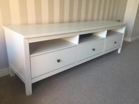 IKEA Hemnes TV bench (white)