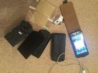 Iphone 5 16Gb, unlocked, black in excellent condition with extras £140