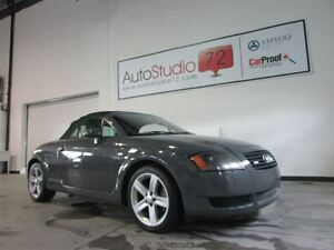 2001 Audi TT 225 HP **AWD**TURBO**CONVERTIBLE**6 VITESSES**