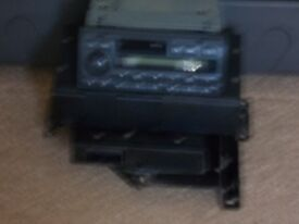 landrover discovery td5 radio cd head unit and cd multy changer