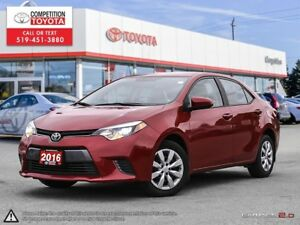 2016 Toyota Corolla LE No Accidents, Former Daily Rental