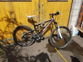 Scott spark mountain bike
