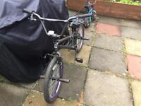 Zinc BMX stunt bike
