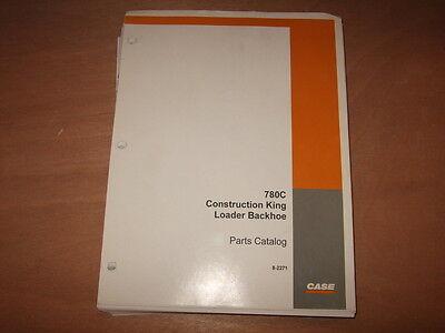 Case 780c Construction King Backhoe Loader Parts Manual Factory Oem 8-2271