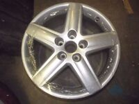 "GENUINE AUDI A3 5 SPOKE ALLOY WHEELS 7.5"" X 17"" 112MM pcd REFURBED BETTER THAN NEW A4 S4 B8 S LINE"