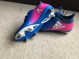 Adidas x football boots size 2