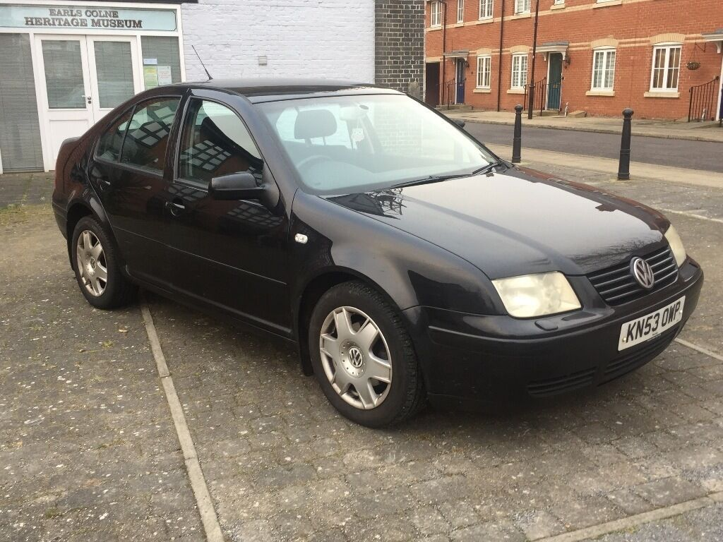 2003 vw bora 2 0 sport black 5 door in coggeshall essex gumtree. Black Bedroom Furniture Sets. Home Design Ideas