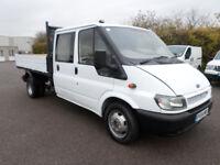 Ford Transit 135 Crew Cab Tipper 04 Years MOT Fully Serviced Part-X-Poss NO VAT